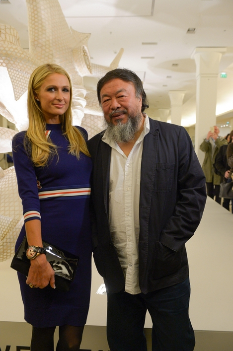 paris hilton and ai weiwei